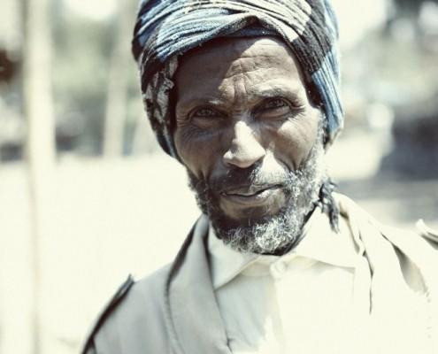 Ein Mann in Äthiopien_©Buenning