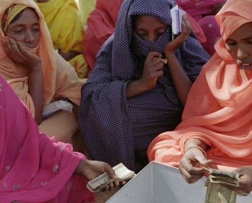 Eine Frauengruppe in Eritrea_©CARE/Meredith Davenport
