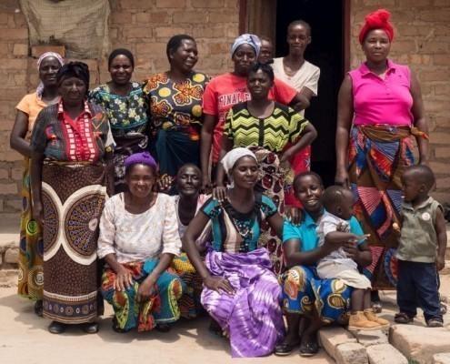 Eine Frauengruppe in Sambia_©Gemeinsam für Afrika/Florian Oellers