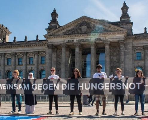 Gemeinsam gegen die Hungersnot_©Gemeinsam für Afrika/Jonas Walter