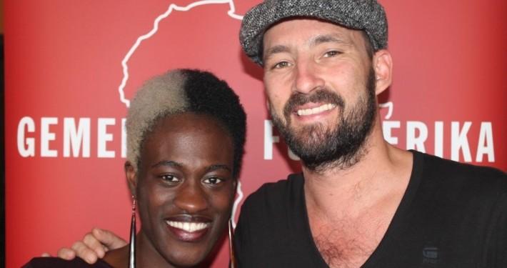 Ivy Quainoo und Gentleman_©Gemeinsam für Afrika