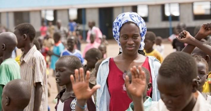 Ivy Quianoo in Kenia_©Gemeinsam für Afrika/Stefan Trappe