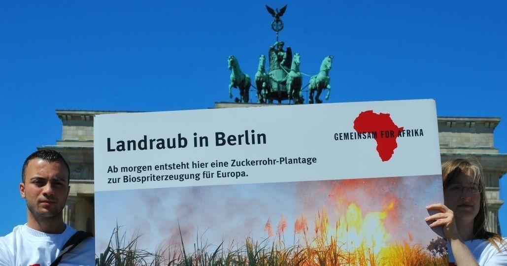 Landraub Berlin_©Gemeinsam für Afrika