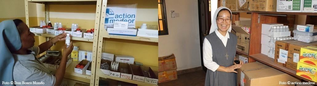 Unsere Mitgliedsorganisationen action medeor und Don Bosco Mondo liefern Medikamente in die betroffenen Regionen.