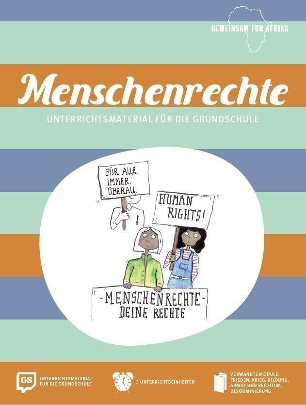 Unterrichtsmaterial über Menschenrechte für die Grundschule