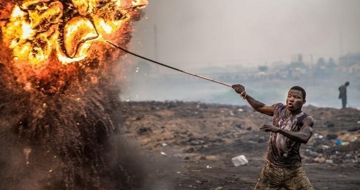"""Der Dokumentarfilm """"Welcome to Sodom"""" lässt die Zuschauer hinter die Kulissen von Europas größter Müllhalde mitten in Afrika blicken._©Welcome to Sodom"""