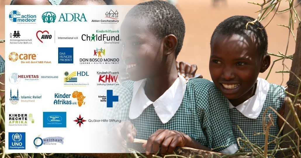 Die Mitgliedsorganisationen von GEMEINSAM FÜR AFRIKA._© GEMEINSAM FÜR AFRIKA