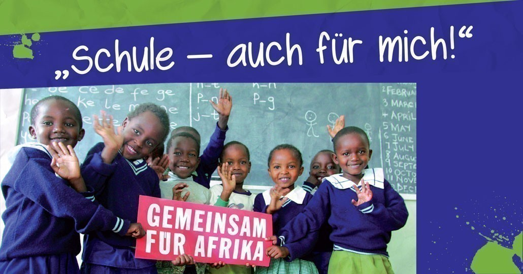 In Hunderte Projekten auf dem gesamten afrikanischen Kontinent fördern die Hilfswerke, die sich zu GEMEINSAM FÜR AFRIKA zusammengeschlossen haben, Kinder und Jugendliche._© GEMEINSAM FÜR AFRIKA