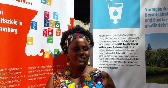 Afrika-Referentin Dorothy Kidza Zentler © GEMEINSAM FÜR AFRIKA