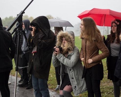 """Schüler*innen der Realschule Netphen machen ein Musikvideo zum Thema """"Liebe""""_©Realschule Netphen"""