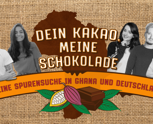 Dein Kakao, meine Schokolade Key Visual Ghana-Reise 2018_©Valentin Hoff/ GEMEINSAM FÜR AFRIKA