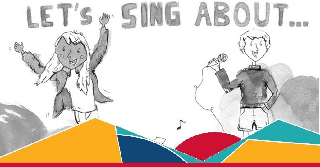"""Schulaktion starten: Schüler*innen des Gymnasiums in FFM komponieren mehrere Lieder zum Thema """"Krieg und Frieden""""_©GEMEINSAM FÜR AFRIKA"""