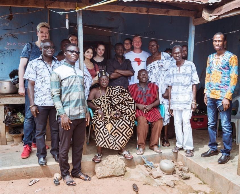 Youtube-Reise Ghana 2018