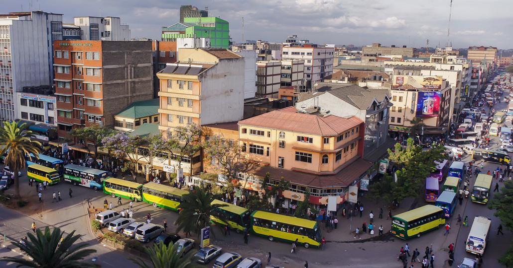 Verkehr in Nairobi, Kenia _© Nahashon Diaz auf Pixabay