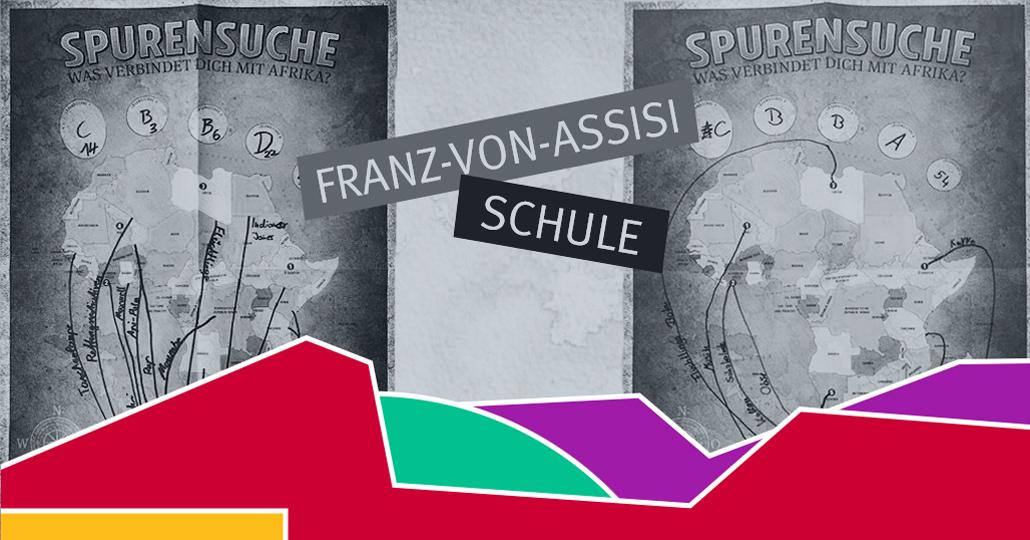 Schulaktion starten: Auf Spurensuche an der Franz-von-Assisi Schule in Augsburg_©GEMEINSAM FÜR AFRIKA
