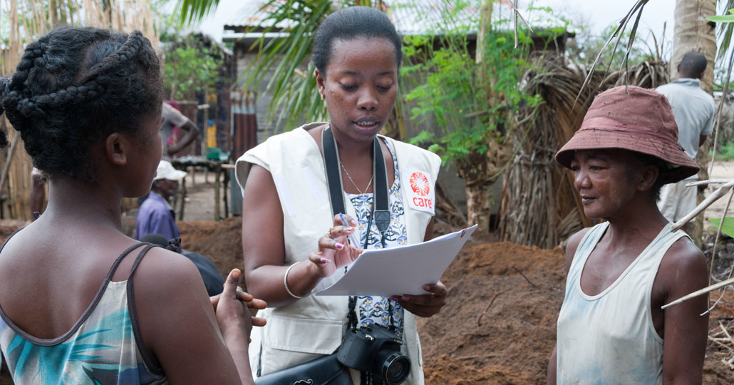 2019 leistete CARE in Madagaskar lebensrettende humanitäre Hilfe für mehr als 40.000 Menschen und trug dazu bei, die Nahrungsmittel- und Ernährungssicherheit für 105.000 Menschen zu verbessern.