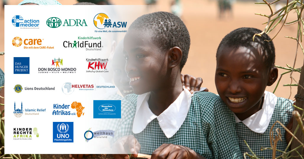 Die Mitgliedsorganisationen von GEMEINSAM FÜR AFRIKA