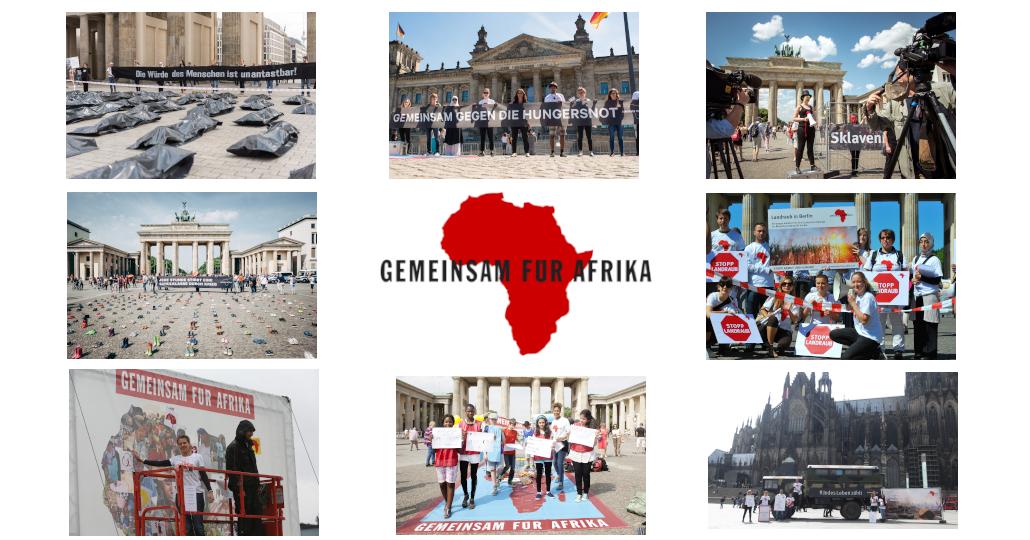 Afrikatag 2020 - Strassenaktion in Zeiten von Corona