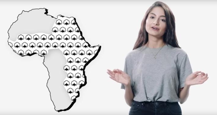 Digitaler Workshop: Kleidung und Baumwolle aus Afrika