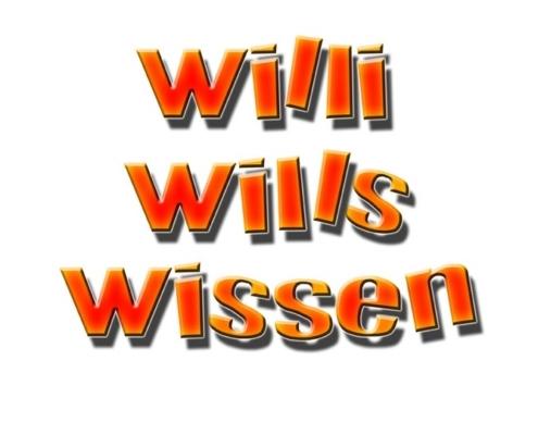 Logo: Willi wills wissen