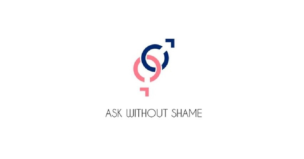 Logo: Ask without Shame