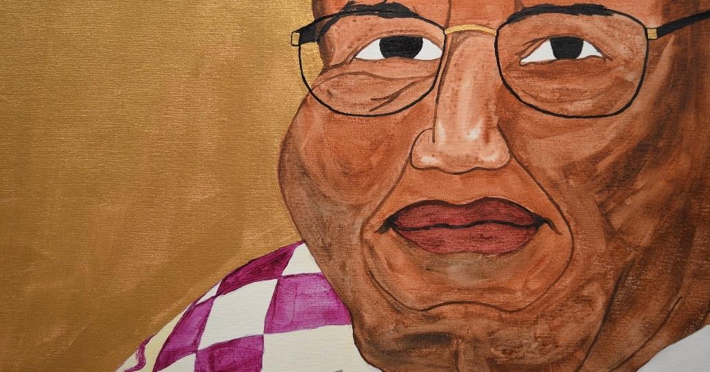 Gemälde von Chinua Achebe