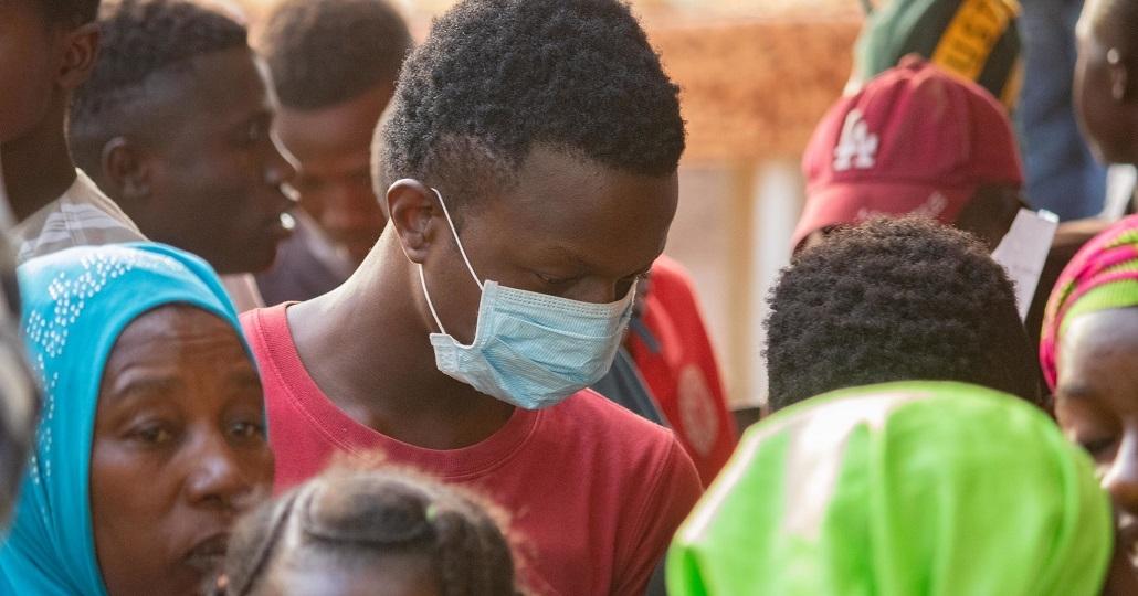 Symbolbild: Coronamaßnahmen in Afrika