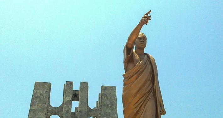 Kwame Nkrumah memorial in Accra