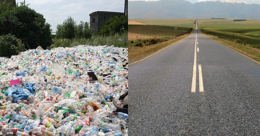 Symbolbild: Straßen aus Plastik