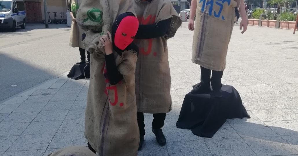 GEMEINSAM FÜR AFRIKA-Aktion gegen Kinderarbeit in Frankfurt_11062021