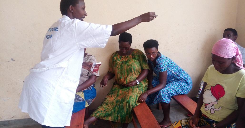 Gesundheitszentrum von ora Kinderhilfe in Burundi © ora Kinderhilfe