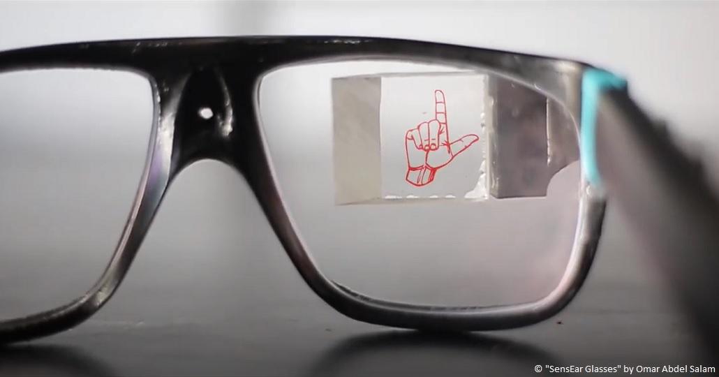 SensEar Glasses Omar Abdel Salam